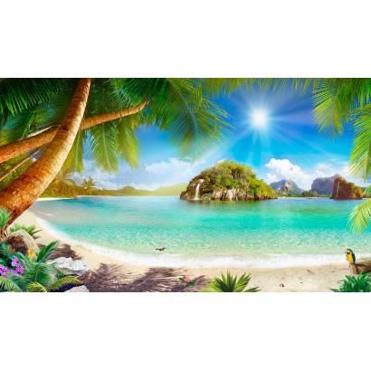 Фотообои Пляж в лучах солнца | арт.26265