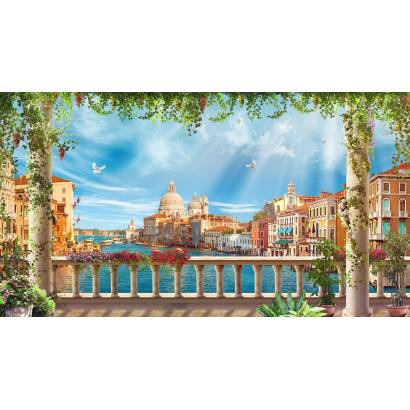 Фотообои Балкон в Венеции | арт.26269