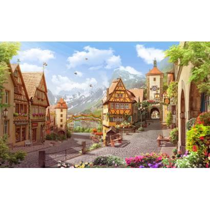 Фотообои Городок в Германии | арт.26276
