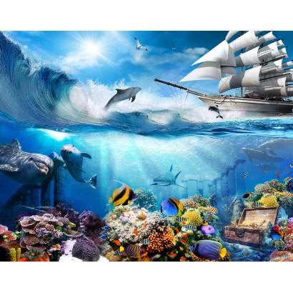 Фотообои Подводные сокровища | арт.26278