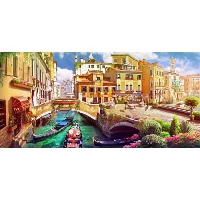 Фотообои Венецианский канал | арт.26280