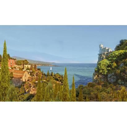 Фотообои Терраса с видом на море | арт.2638
