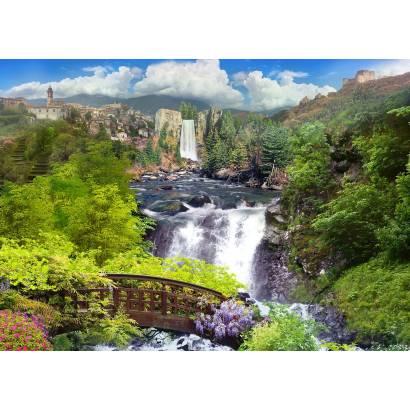 Фотообои Горный водопад | арт.2643