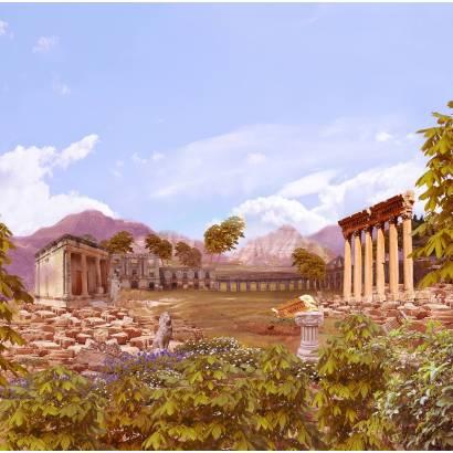 Фотообои Древние руины - коллаж | арт.2647