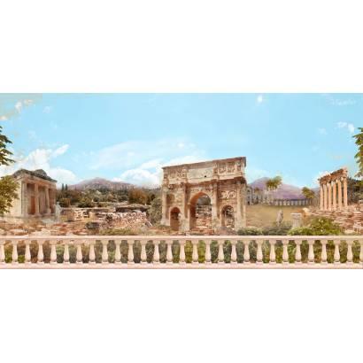 Фотообои Древние руины - коллаж | арт.2648