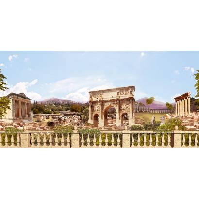 Фотообои Древние руины - коллаж | арт.2649