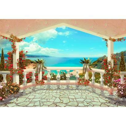 Фотообои Вид с балкона | арт.2655