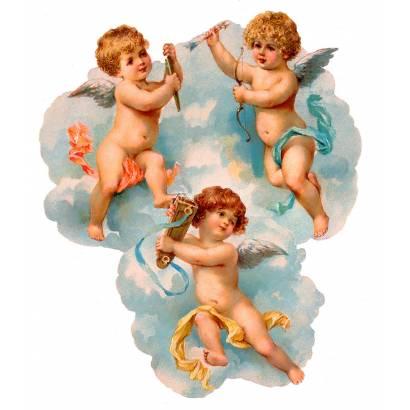 Фотообои Три ангелочка | арт.2669