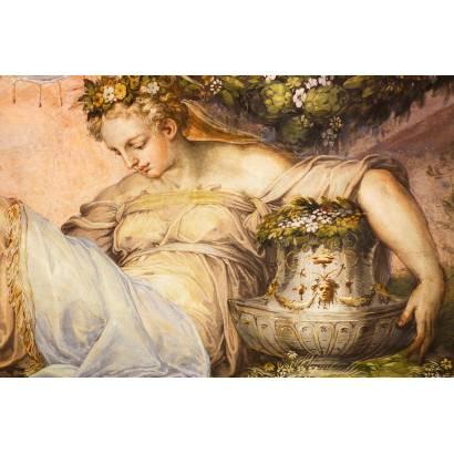 Фотообои Старинная фреска | арт.2671