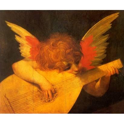Фотообои Музицирующий ангел | арт.2683