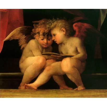 Фотообои Два ангела | арт.2684