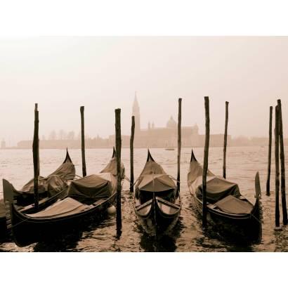 Фотообои Гондолы в Венеции | арт.2710