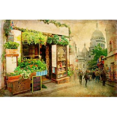 Фотообои Торговая улочка | арт.2717