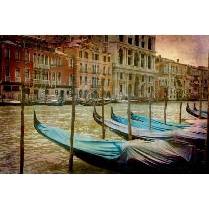 Фотообои Гондолы в Венеции | арт.272
