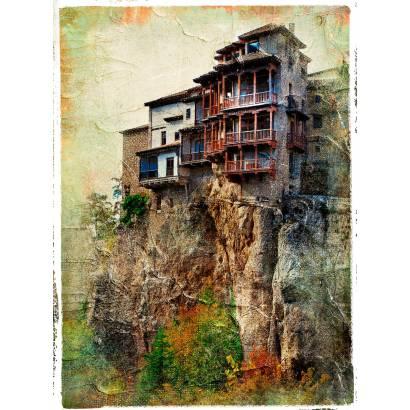Фотообои Дом на скале | арт.2733