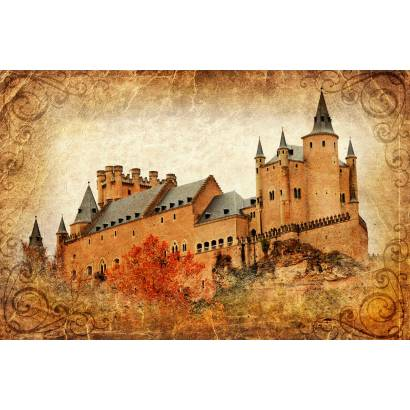 Фотообои Замок. Винтаж | арт.2751