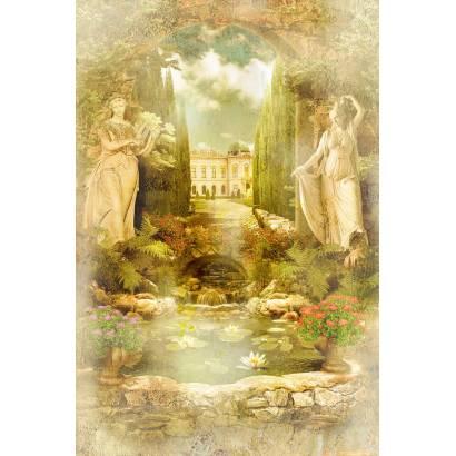 Фотообои Старинная фреска | арт.2752