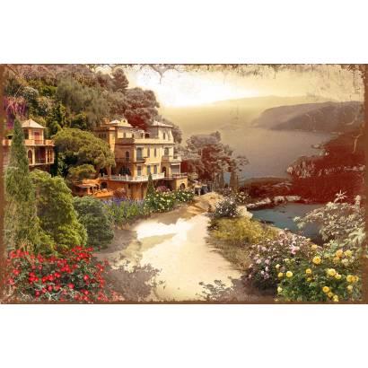 Фотообои Дом у моря | арт.2753