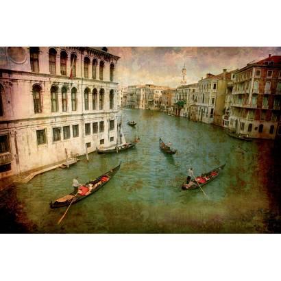 Фотообои Гондолы в Венеции | арт.276