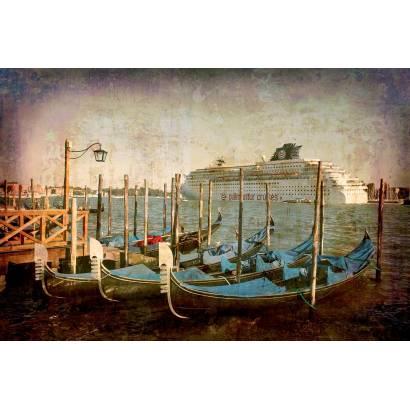 Фотообои Гондолы в Венеции | арт.279