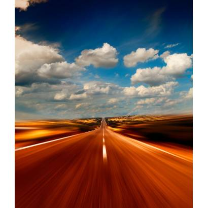 Фотообои Трасса на скорости | арт.29226