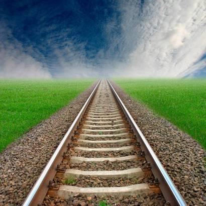 Фотообои Железная дорога | арт.29233