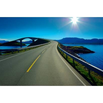 Фотообои Дорога к мосту | арт.29244