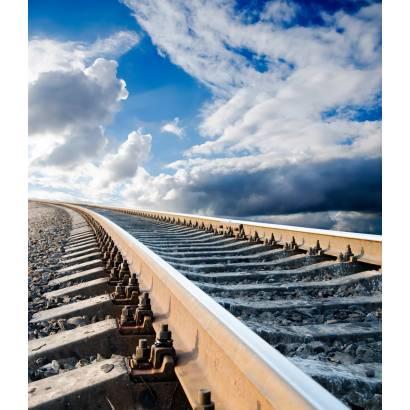 Фотообои Железнодорожный поворот | арт.29250