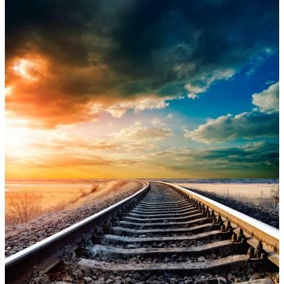 Фотообои Железнодорожный путь | арт.29251