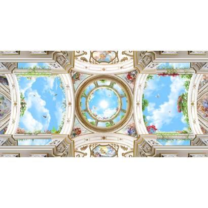 Фотообои Арочный купол с небом | арт.3010