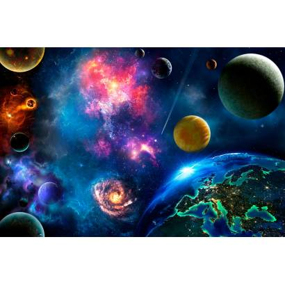 Фотообои Звездные миры | арт.306