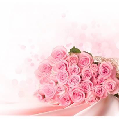 Фотообои Букет алых роз | арт.28266