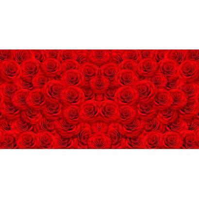 Фотообои Красные розы. Горизонтально | арт.28474