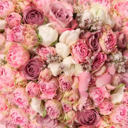 Фотообои Розовый букет | арт.28484