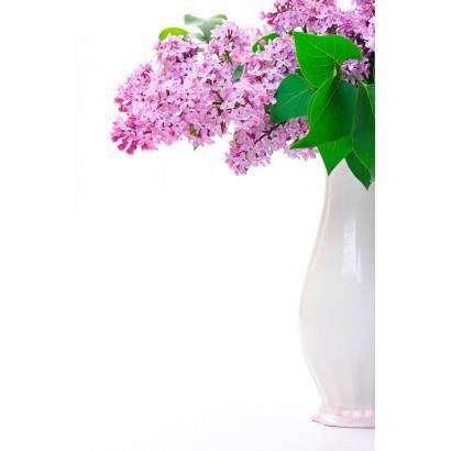 Фотообои Сирень в белой вазе | арт.28494