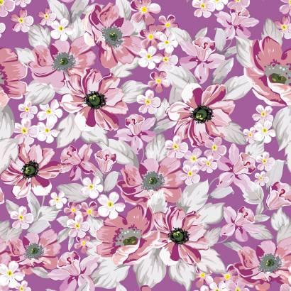 Фотообои Цветочный узор | арт.28505