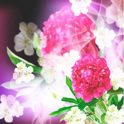 Фотообои Яркие цветы | арт.28566