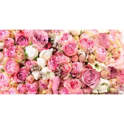 Фотообои Розовый букет | арт.28599
