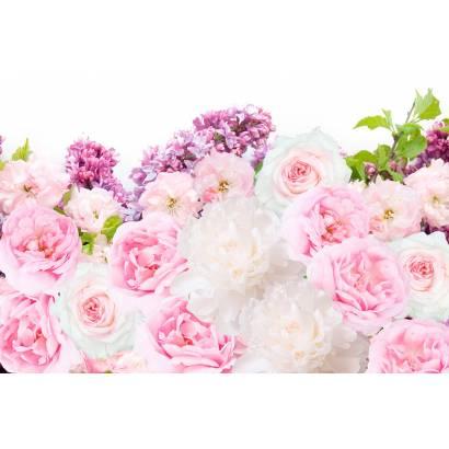 Фотообои Розы и пионы | арт.28645
