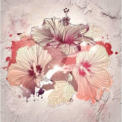 Фотообои Цветы гибискуса | арт.28653