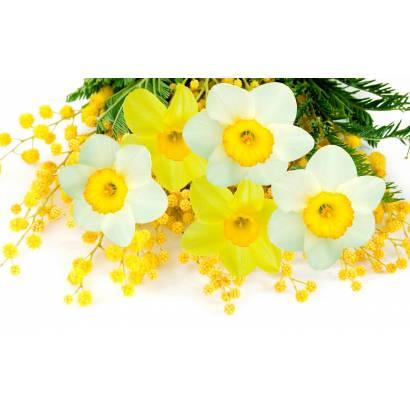 Фотообои Желтые цветы | арт.28664
