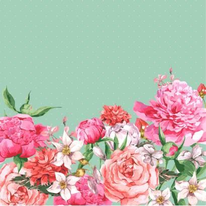 Фотообои Цветочный узор | арт.28669