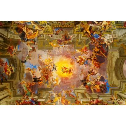 Фотообои Потолок фреска | арт.3037
