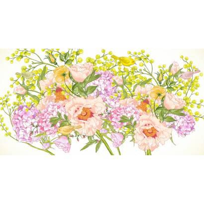 Фотообои Весенний букет | арт.17122
