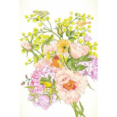 Фотообои Весенний букет В. | арт.17123