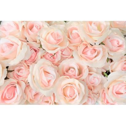 Фотообои Текстильные розы | арт.28701